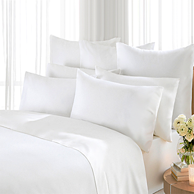 Elina Satin Plain Hotel Bed Linen